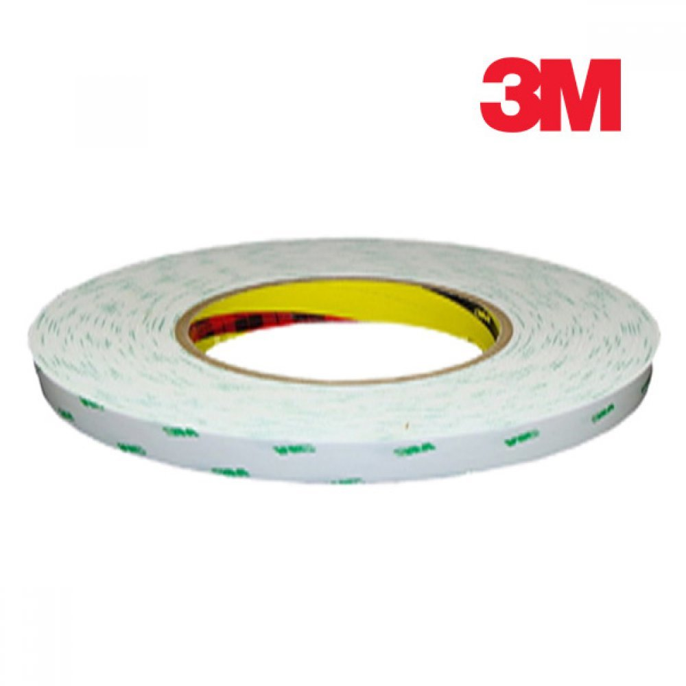 [더산3M]3M 화지양면테이프 9346 12mm x 50M/양면테이프/몰딩양면테이프/3M양면테이프/화지양면테이프/얇은양면테이프/테이프/접착테이프