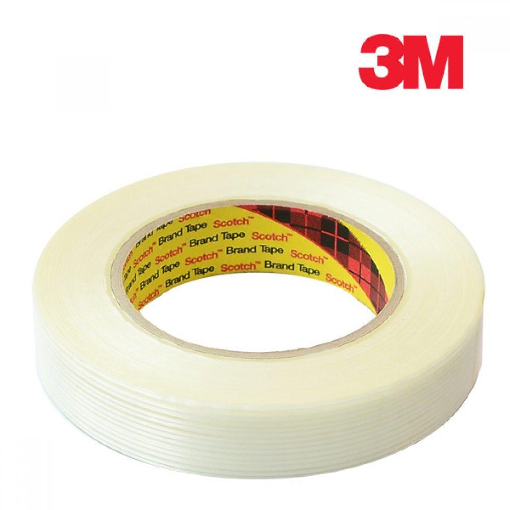 [더산3M]3M 필라멘트 테이프 25mm x 50M/필라멘트테이프/3M테이프/질긴테이프/봉합테이프/마스킹테이프/테이프/접착테이프