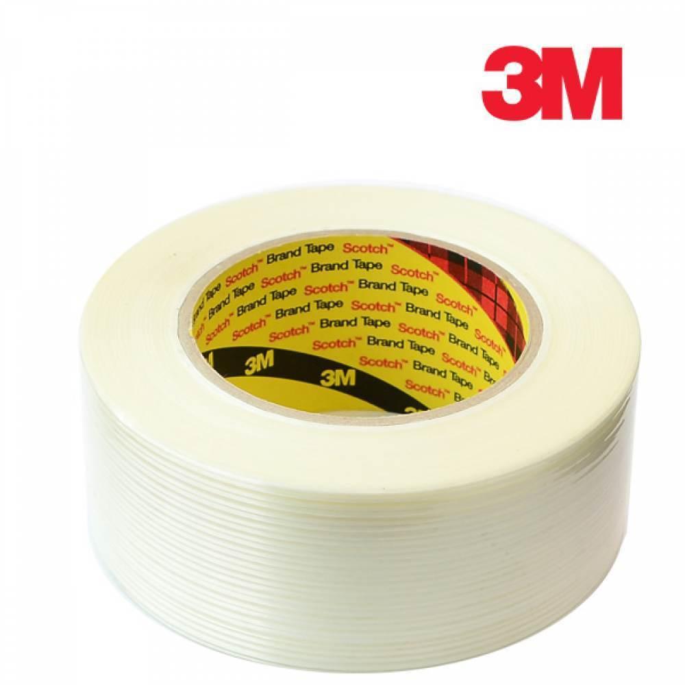[더산3M]3M 필라멘트 테이프 50mm x 50M/필라멘트테이프/3M테이프/질긴테이프/봉합테이프/마스킹테이프/테이프/접착테이프