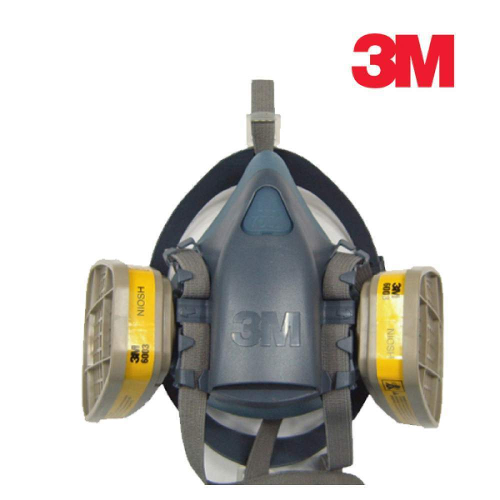 3M 마스크 7502 방독세트 7502+6003