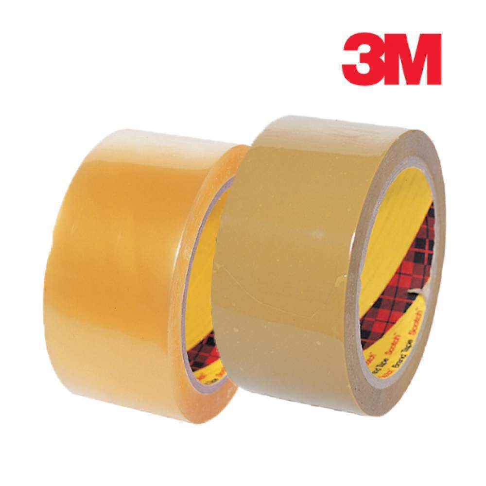 [더산3M]3M OPP테이프 372KS 베이지/투명/박스테이프/OPP테이프/택배테이프/포장테이프/테이프/투명테이프/3M박스테이프/박스테잎/베이지테잎/베이지테이프