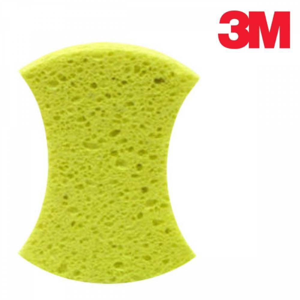 3M 세차용 천연펄프 스폰지 AC 1 [제작 대량 도매 로고 인쇄 레이저 마킹 각인 나염 실크 uv 포장 공장 문의는 네이뽕]