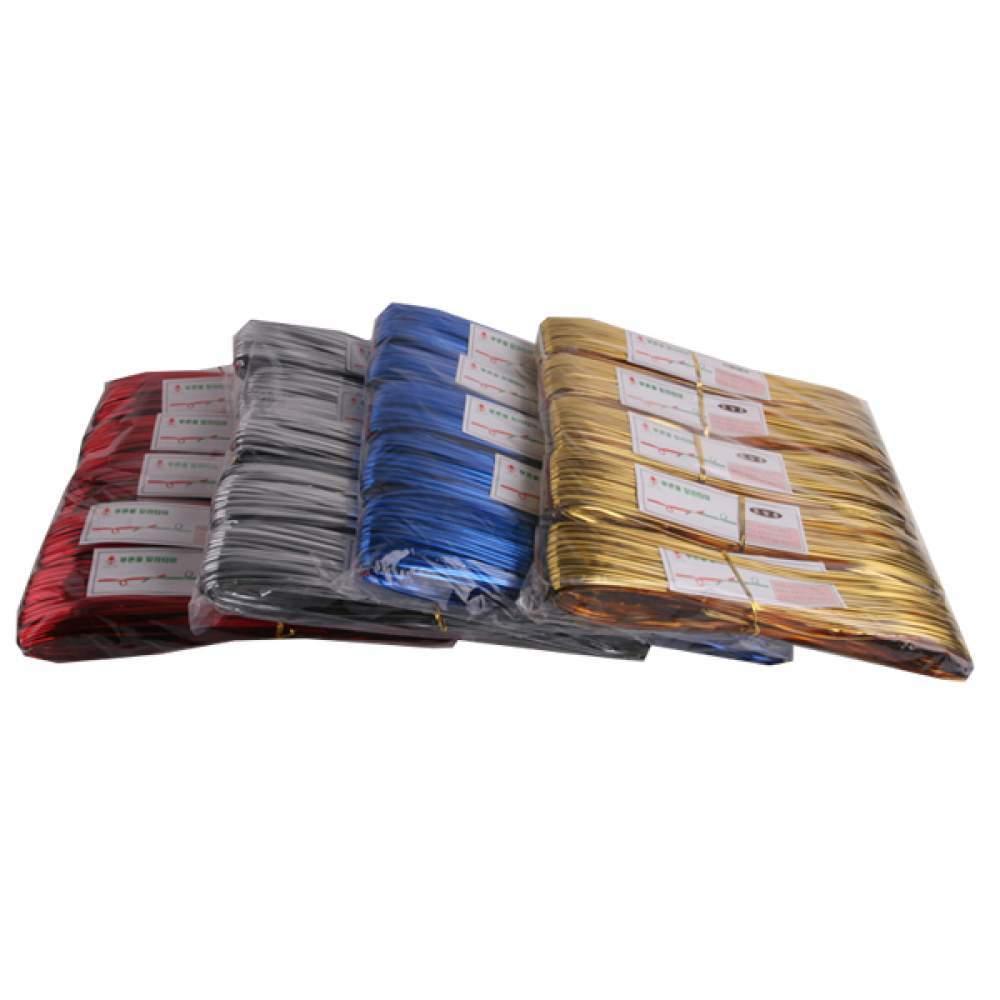 포장용 선정리용 타이 140M x 5묶음 5가지색상 택1