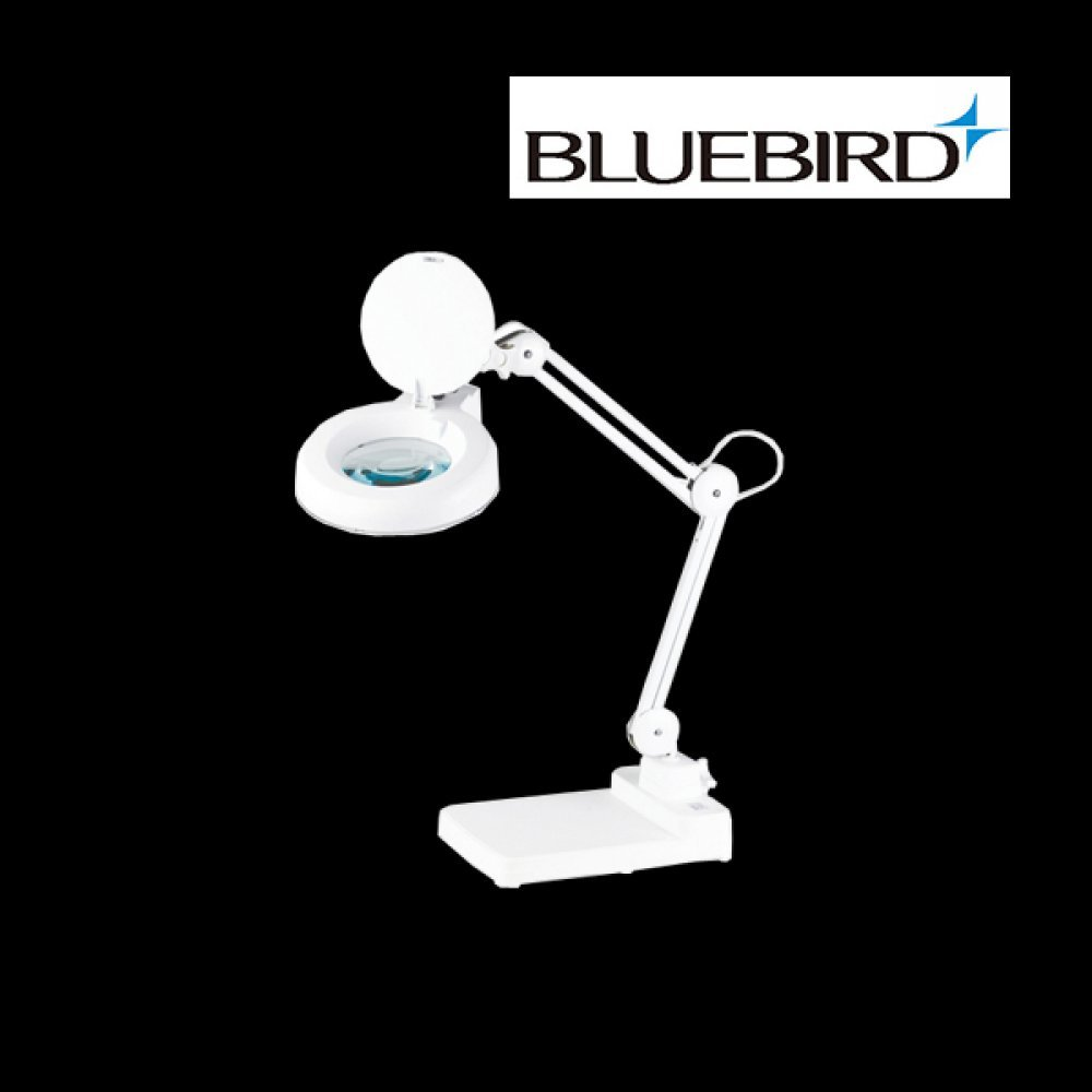 블루버드 조명 확대경 3배율 스탠드형 BD-B3