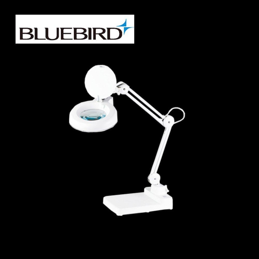 블루버드 조명 확대경 5배율 스탠드형 BD-B5