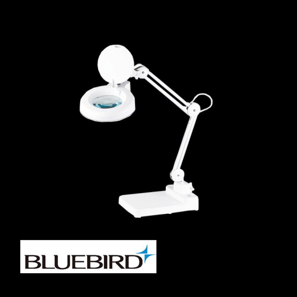 블루버드 조명 확대경 8배율 스탠드형 BD-B8