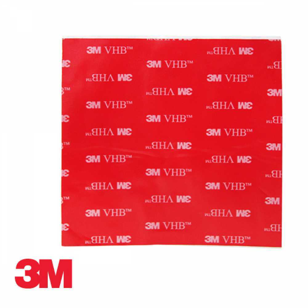 3M 4910 하이패스 부착용 투명 양면테이프 5cm x 5cm