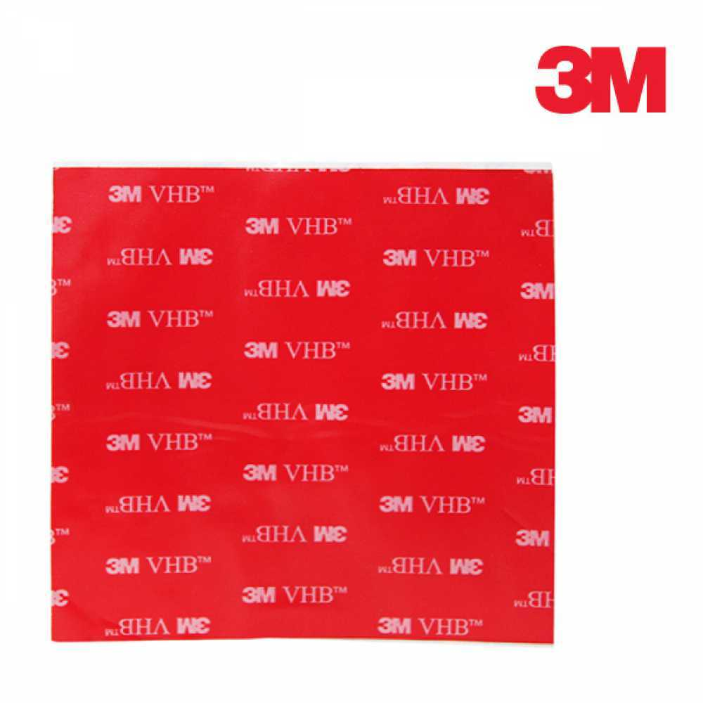 3M 4910 하이패스 부착 투명 양면테이프 10cm x 10cm [제작 대량 도매 로고 인쇄 레이저 마킹 각인 나염 실크 uv 포장 공장 문의는 네이뽕]
