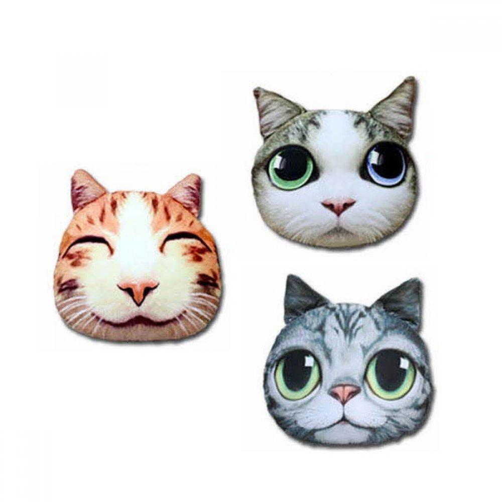 고양이 디자인 쿠션 기본사이즈 15종 택1 08보고싶을고양