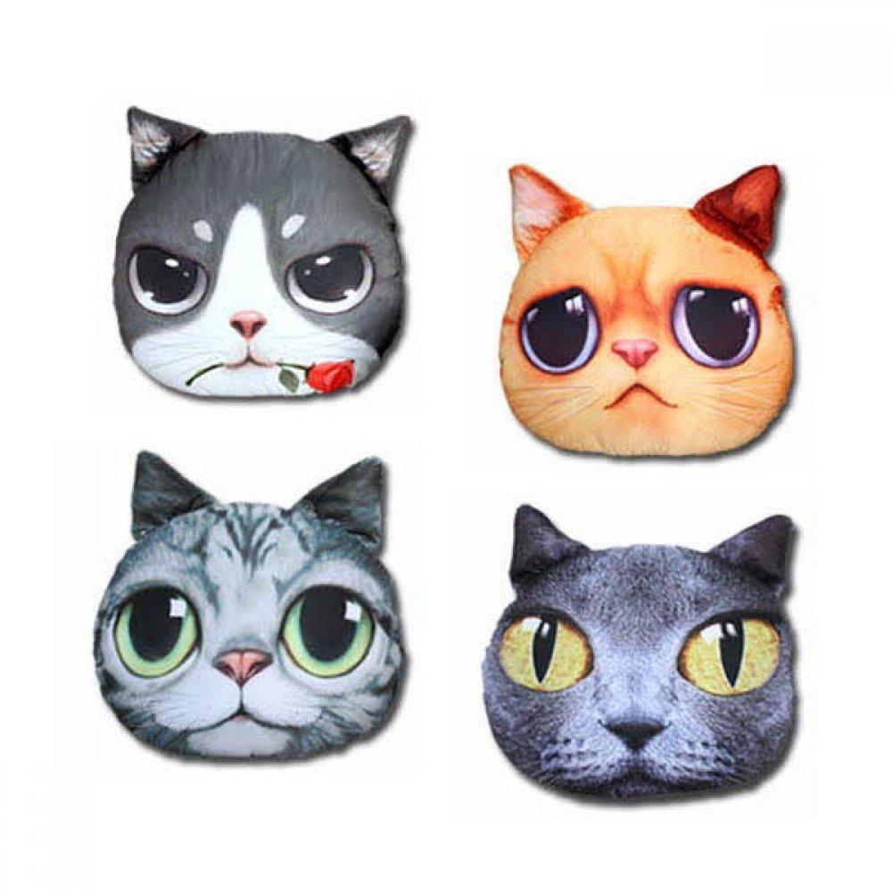 고양이 디자인 쿠션 큰사이즈 7종 택1