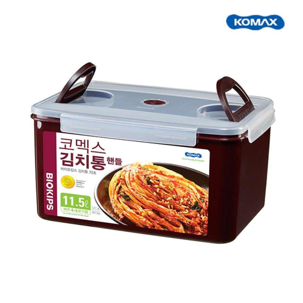코멕스 바이오킵스 김치용기71호 11.5L 김치통 투핸들
