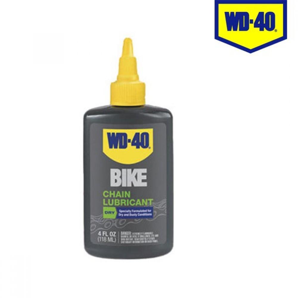 WD-40 바이크 자전거용 체인 오일 건식 118ml