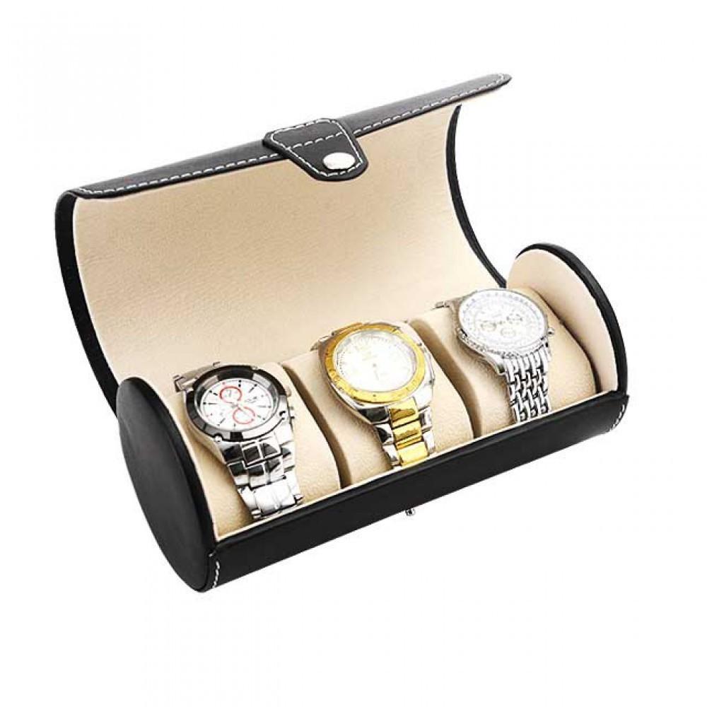 원형 시계 보관함 케이스 3구