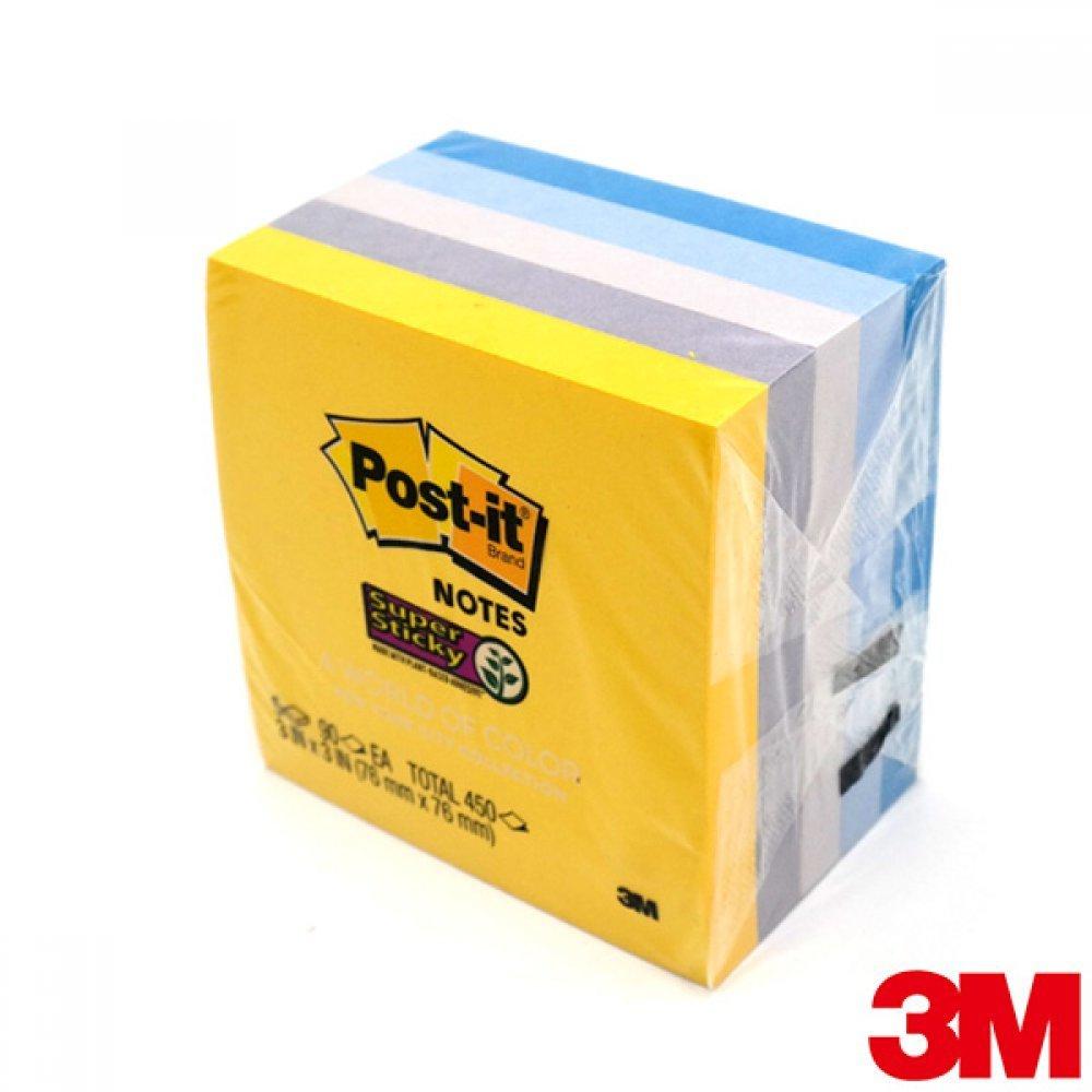 [더산3M]3M 포스트잇 노트 도시컬렉션 뉴욕 654-5SSNY/책갈피/분류/구분/포스트잇/3m메모/메모지/포스트이트/654/657/메모/연습장/노트/
