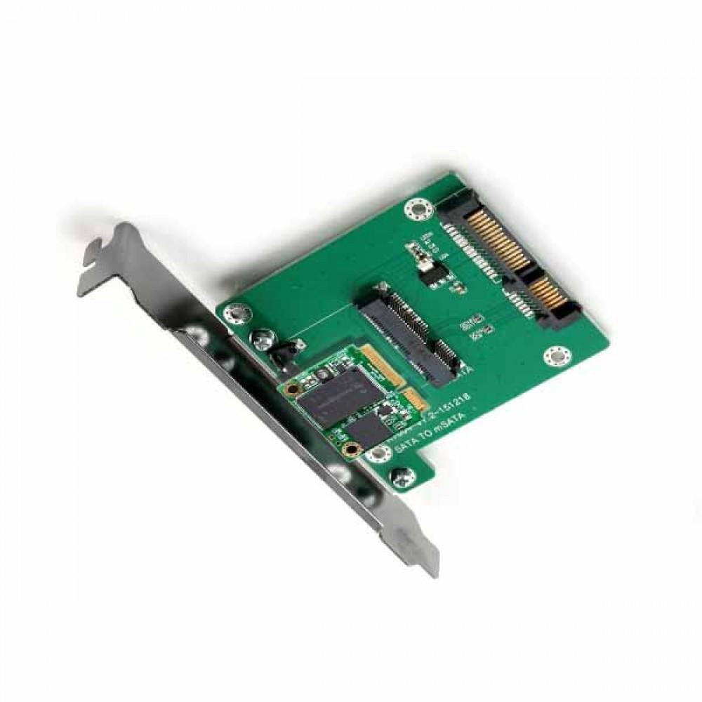 SATA 컨버터 mSATA to SATA PC 브라켓타입