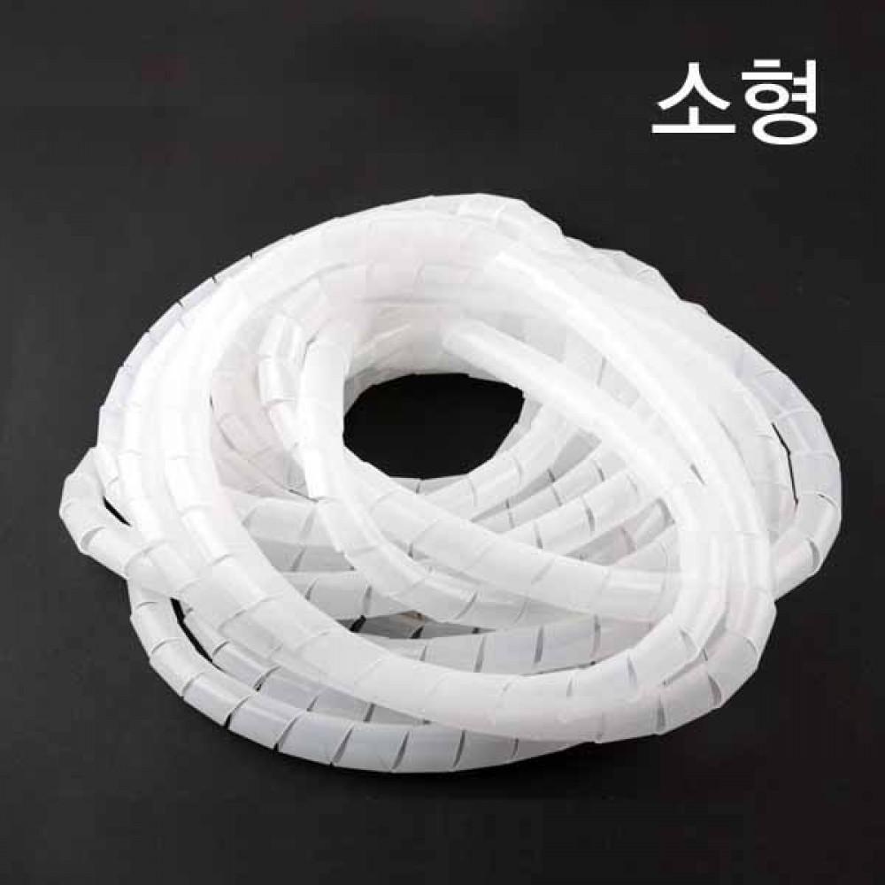 [더산3M]헬리컬 밴드 케이블 정리 소형 10M/케이블/정리기/헬리컬밴드/정리