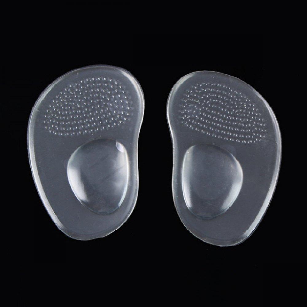 발바닥 보호 투명 실리콘 패드 2개 1세트