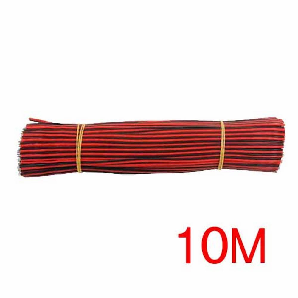 2선 점퍼 케이블 Black-Red 10cm 200개