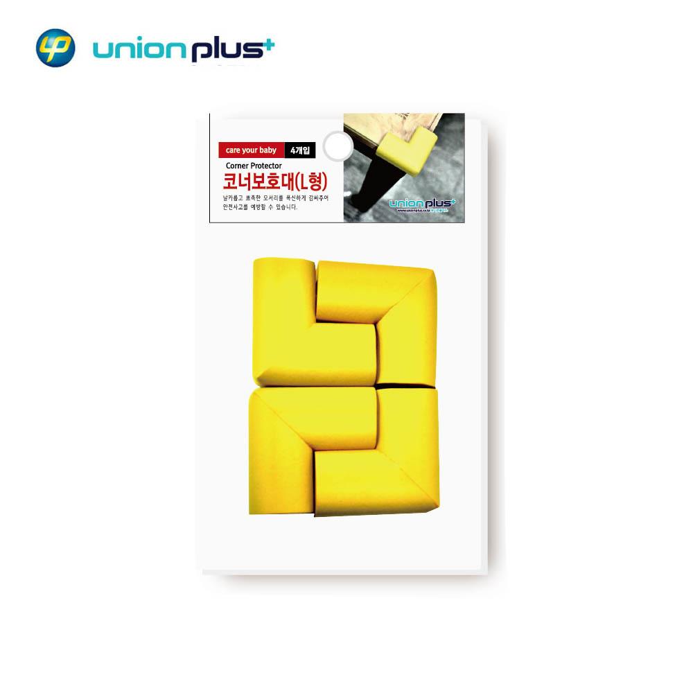유니온플러스 보호대 L형 4개입 코너 유아안전 블루(LF0124)
