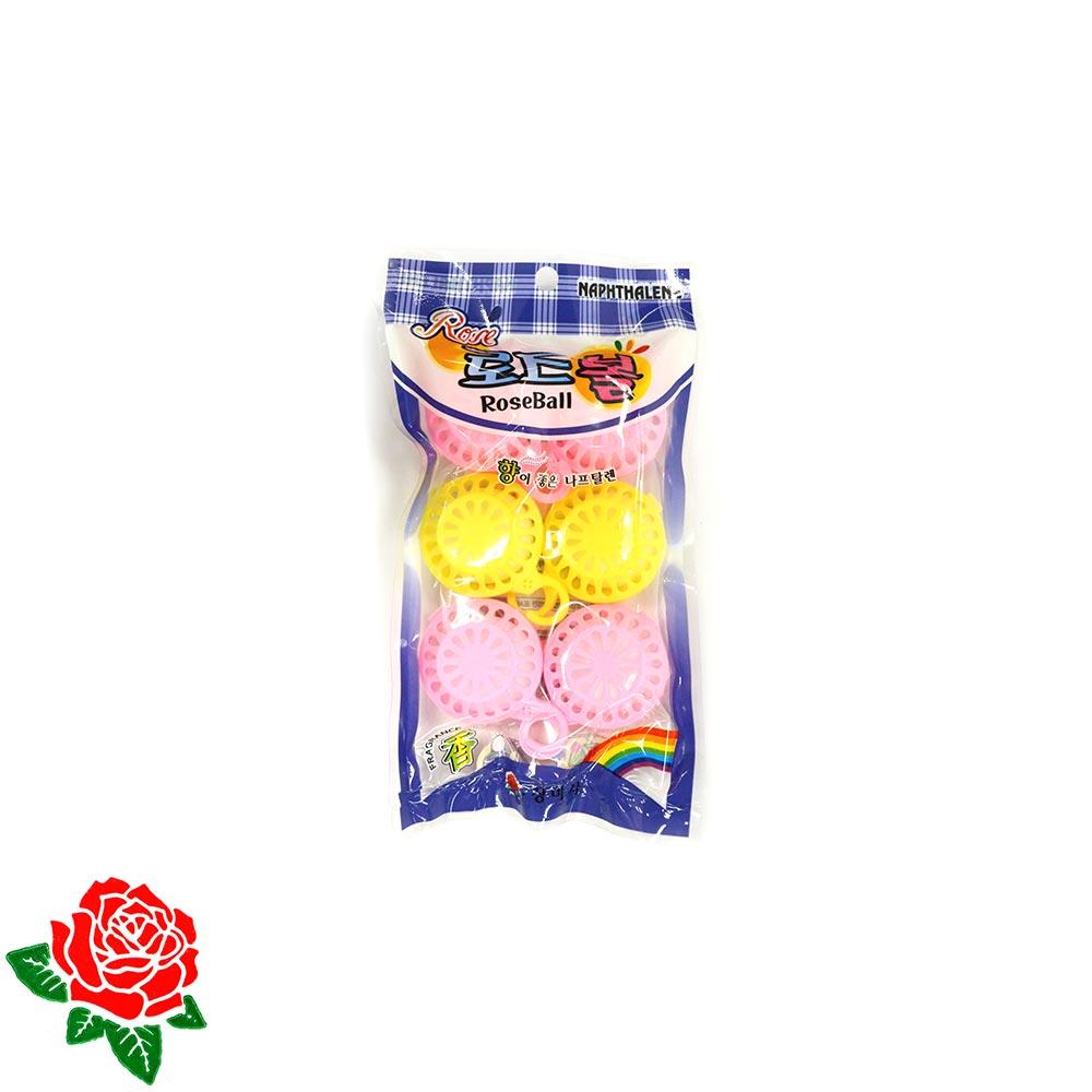 장미사 나프타린 방충제 로즈볼 6P