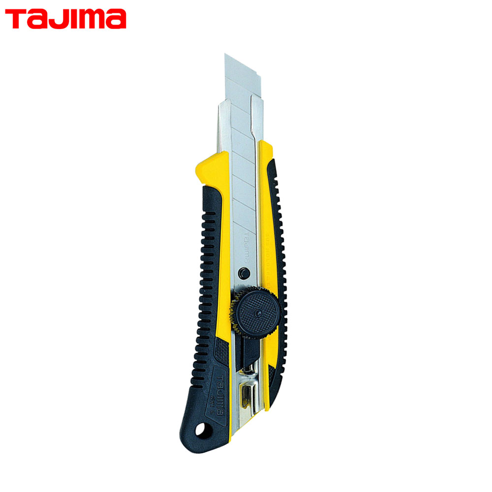 타지마 산업용 컷터칼 LC-561 잠금장치 고무그립