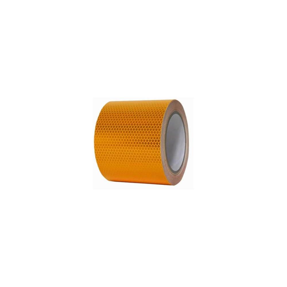 황색 x 테이프 10M 반사 고휘도 벌집무늬 150mm
