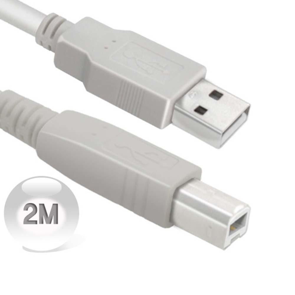 와이어맥스 USB 2.0 AM-BM 케이블 2M N-402