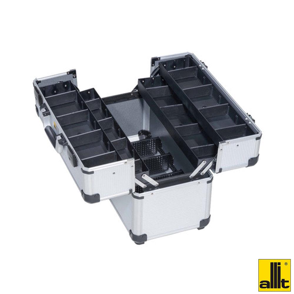 올잇 알루미늄공구함 양쪽개페타입 47C 공구가방