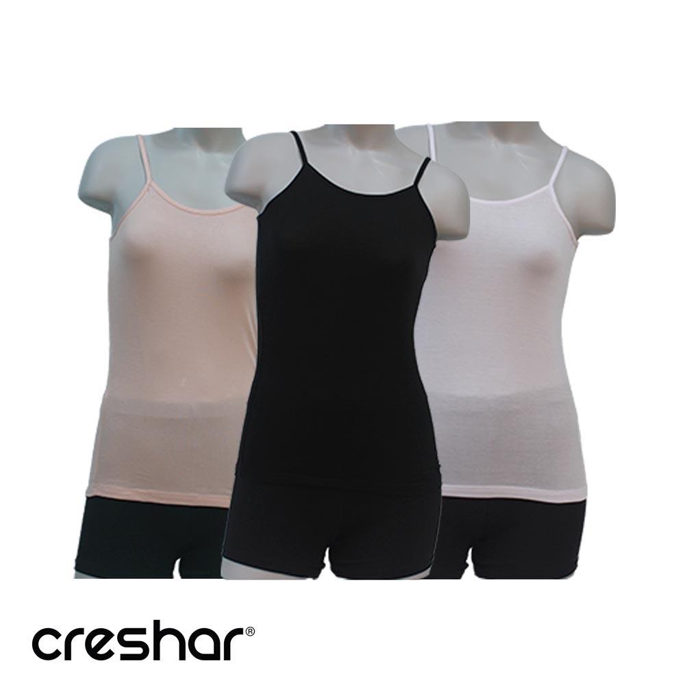 크레샤르 텐셀 베이직 여성 끈나시 런닝 케미솔 XL