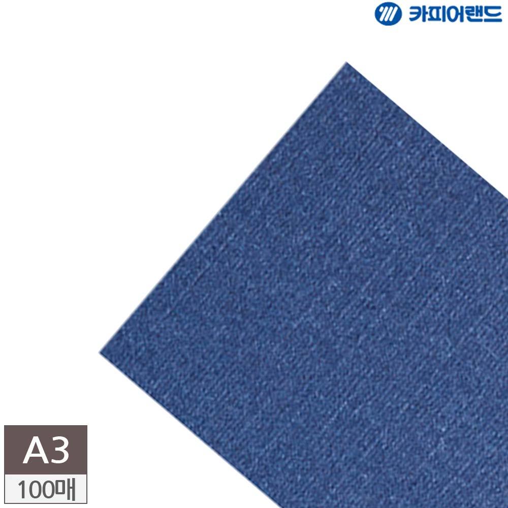 100매 바이로닉지 청색 제본표지용 A3