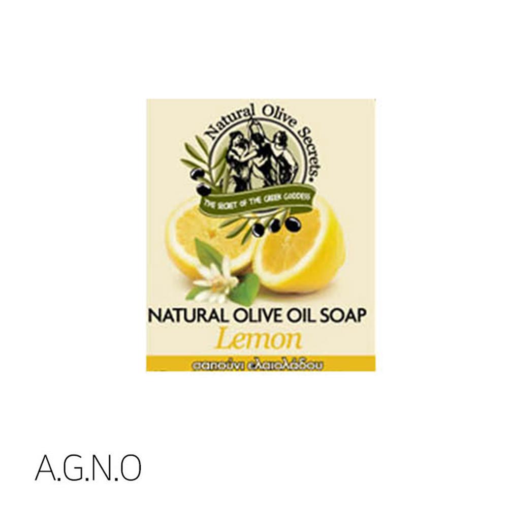 아그노 100g 레몬 비누 올리브 그리스