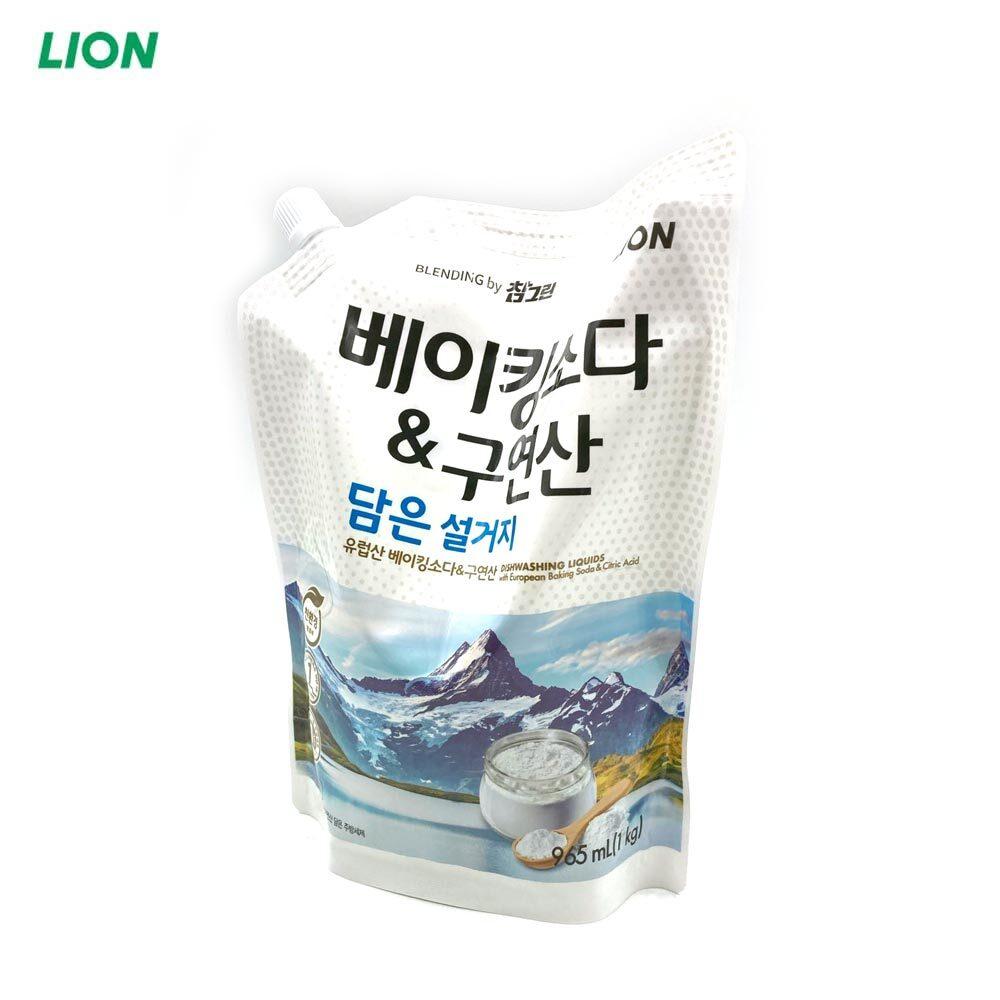 참그린 베이킹소다 구연산 주방세제 1kg 리필 1EA