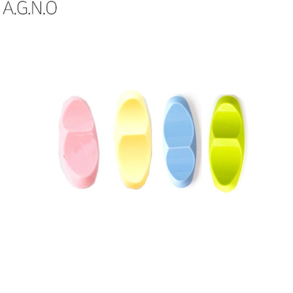 아그노 실리콘 수저받침 1P 4종 택1