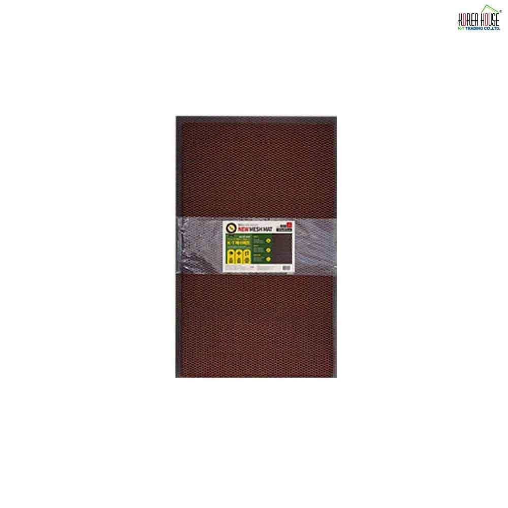 KT 메쉬 매트 발판 라이트 오렌지 소형 50 x 80