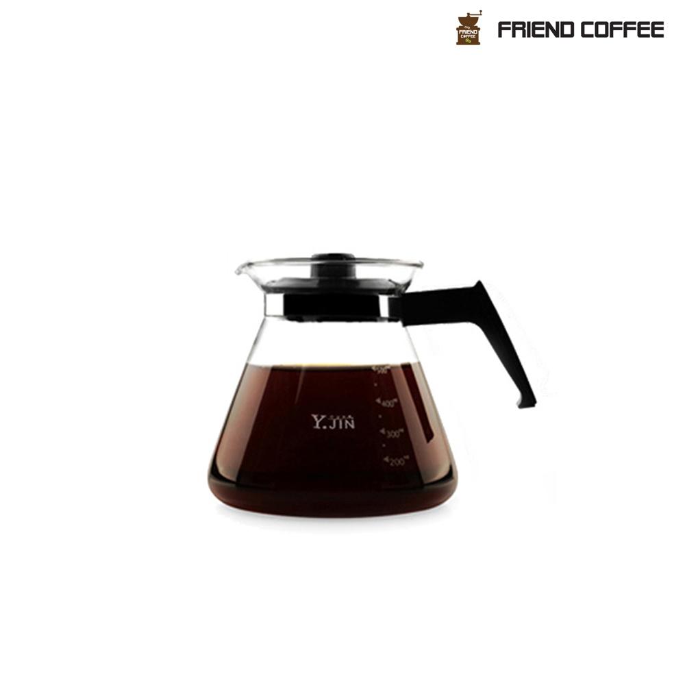 YJ 드립서버 500ml 커피용품 직화용