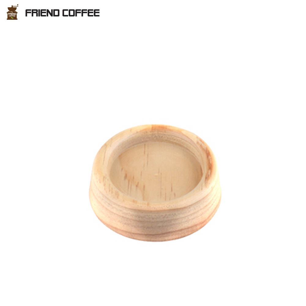 프랜드 원목 템퍼받침 커피용품