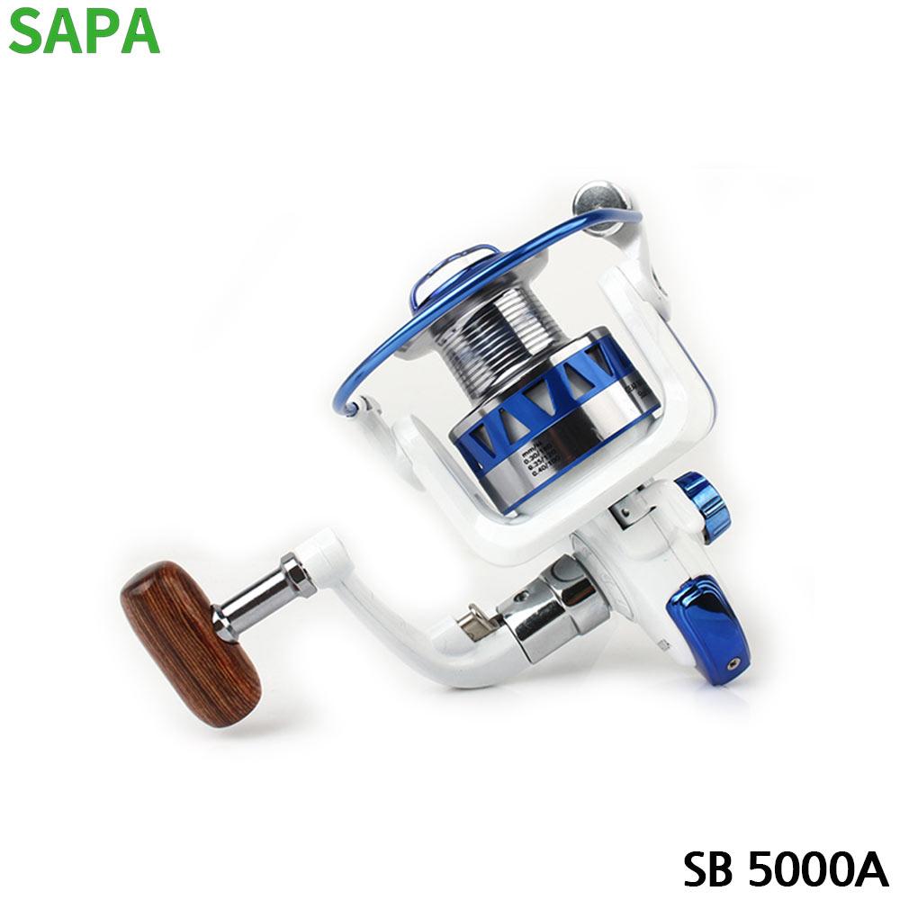 싸파 SB 스피닝릴 5볼 원터치형 낚시릴 SB 5000A
