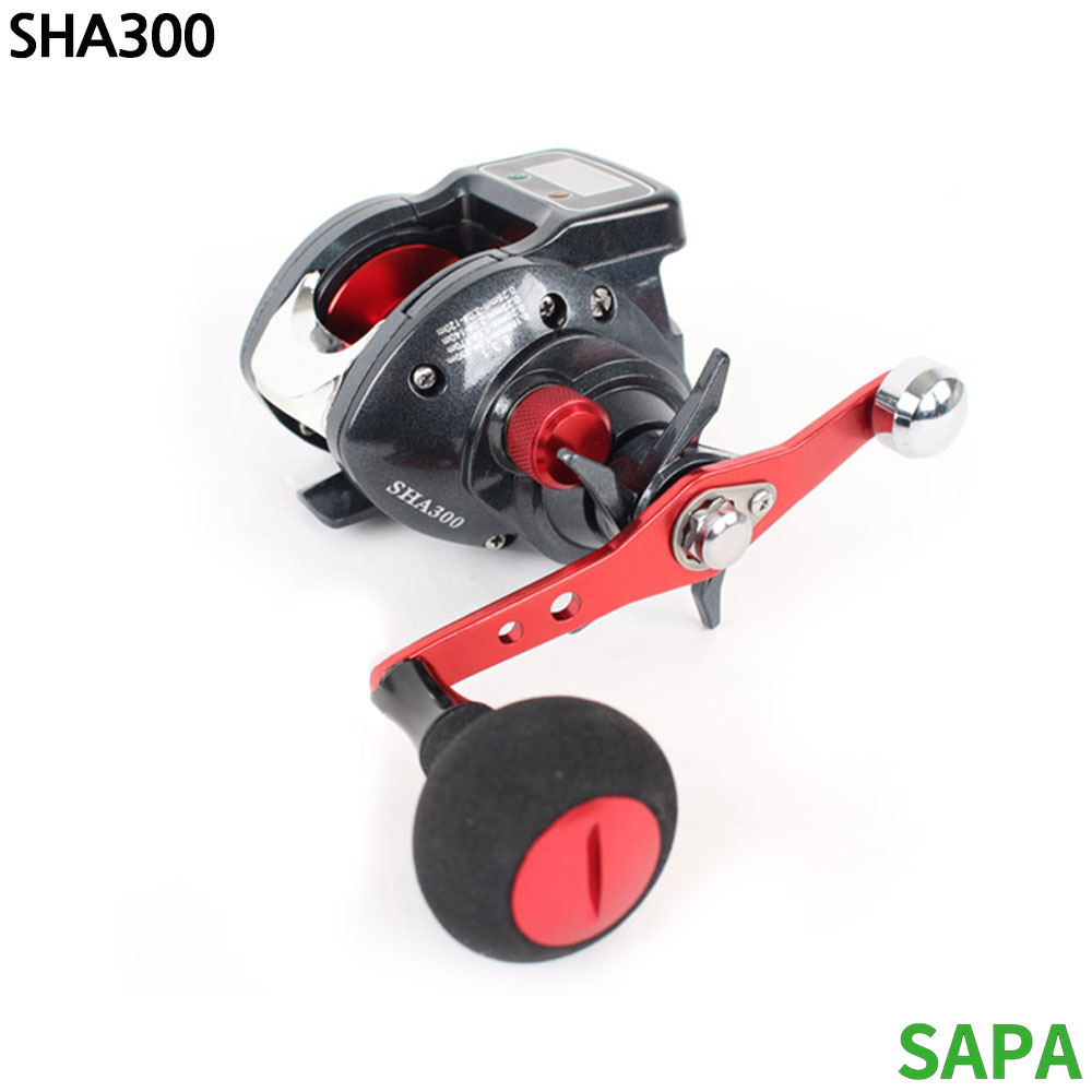 싸파 디지털 수심측정 베이트릴 SHA300 낚시릴