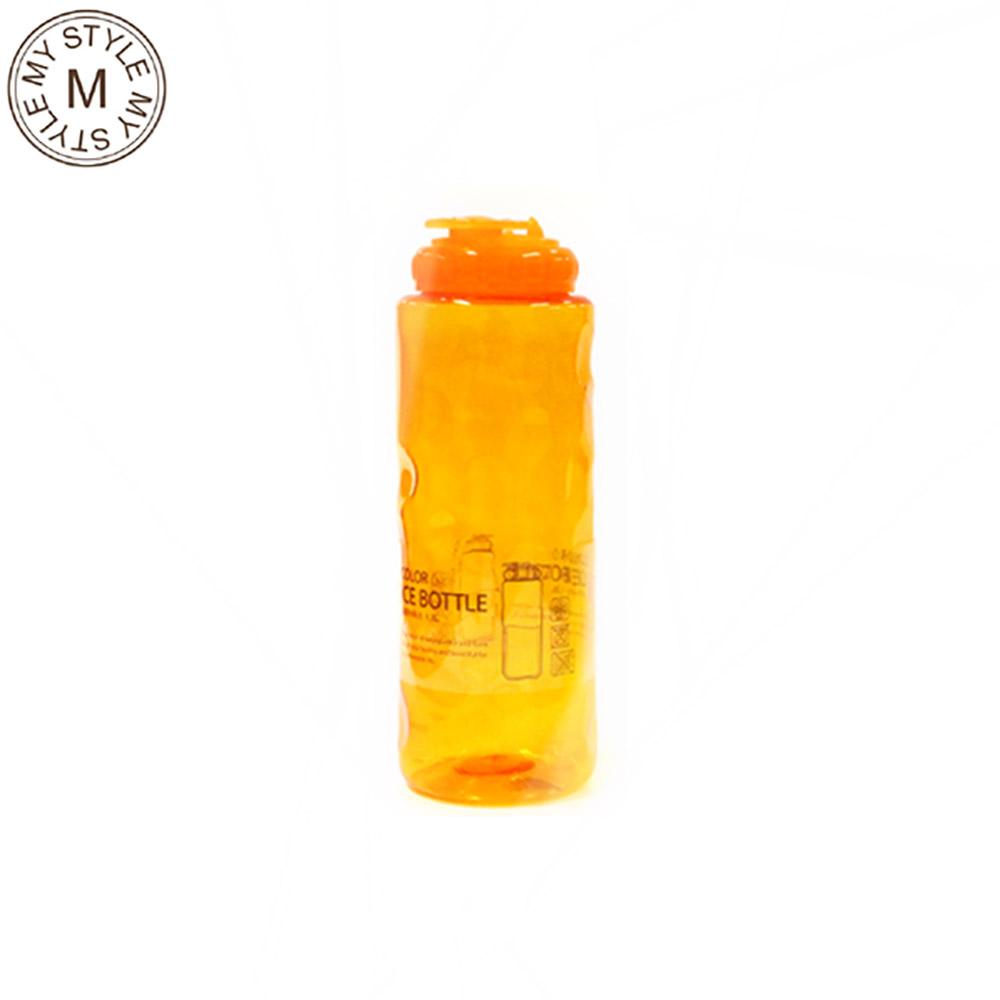 [더산3M]문일 칼라 아이스 물병 1.2L 오렌지/워터보틀/휴대용물병/스포츠물병/헬스물통/플라스틱보틀/텀블러