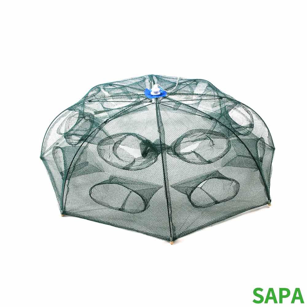 싸파 8각 16구 우산형 새우망 통발 새우채집망
