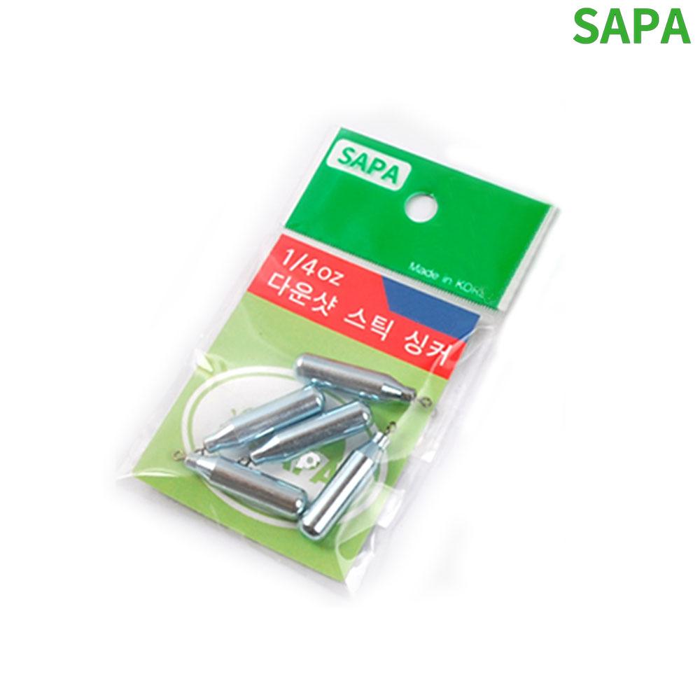 싸파 다운샷 스틱 싱커 7g 30mm 5개입