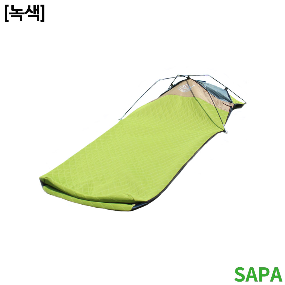 싸파 아이스 침낭 SSB 310 쿨메쉬원단 녹색