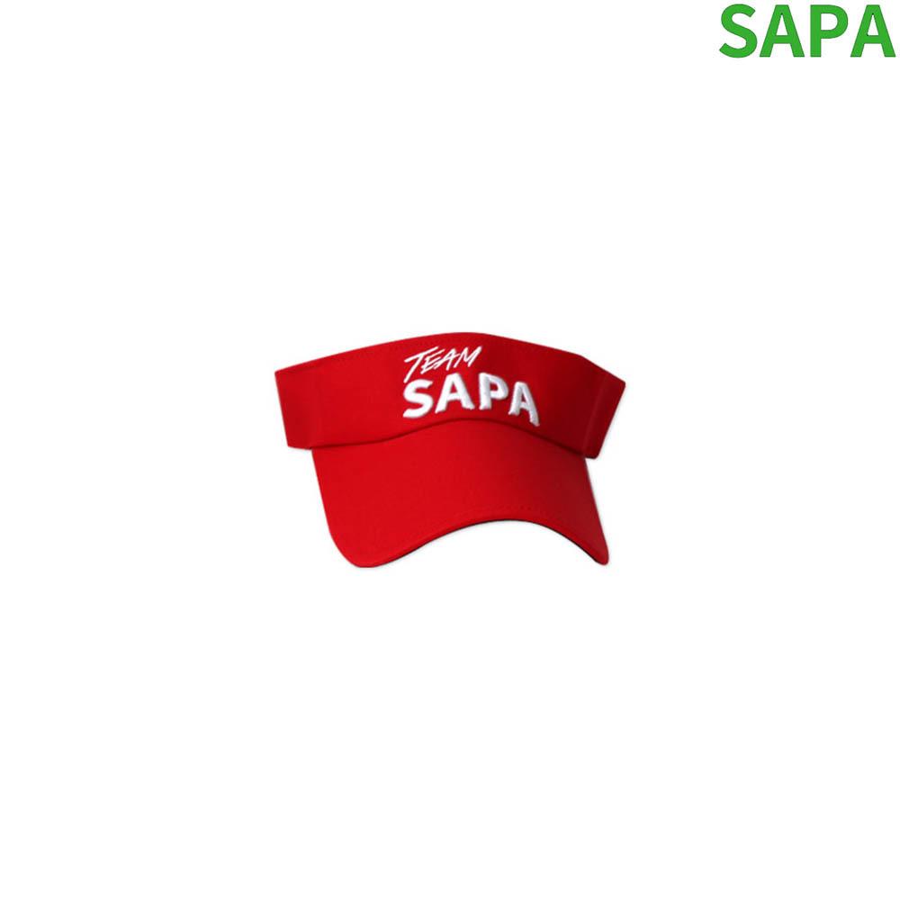 싸파 TEAM SAPA 낚시모자 션샤인썬캡 SSC-001R 레드