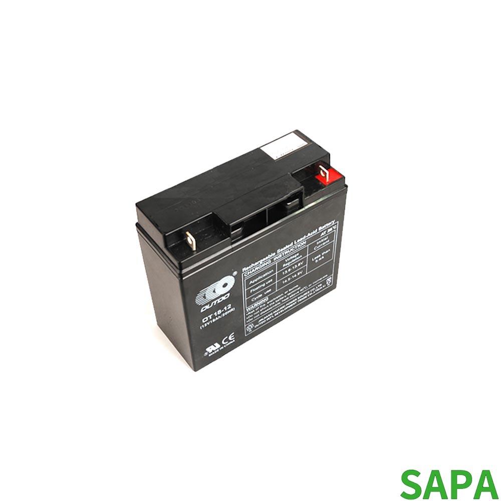 싸파 무보수 밀폐형 무누액 충전식 배터리 12V 18AH