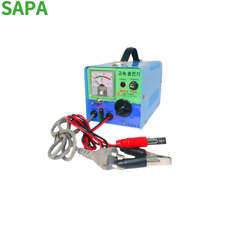 은성 수동 배터리충전기 12-24V겸용 DD-119S1 MAX15A