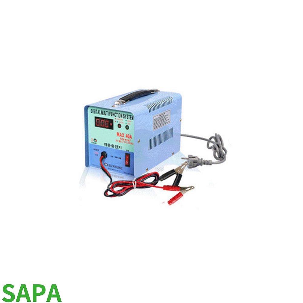 은성 디지털 자동 충전기 12-24V겸용 DD-119B2 MAX40A