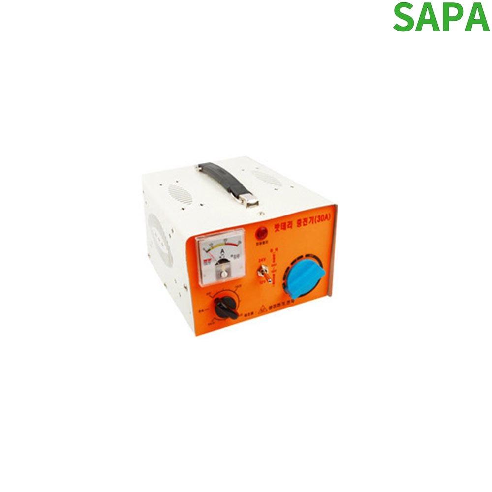 성진 차량용 배터리 충전기 12-24V 겸용 SJ-30A