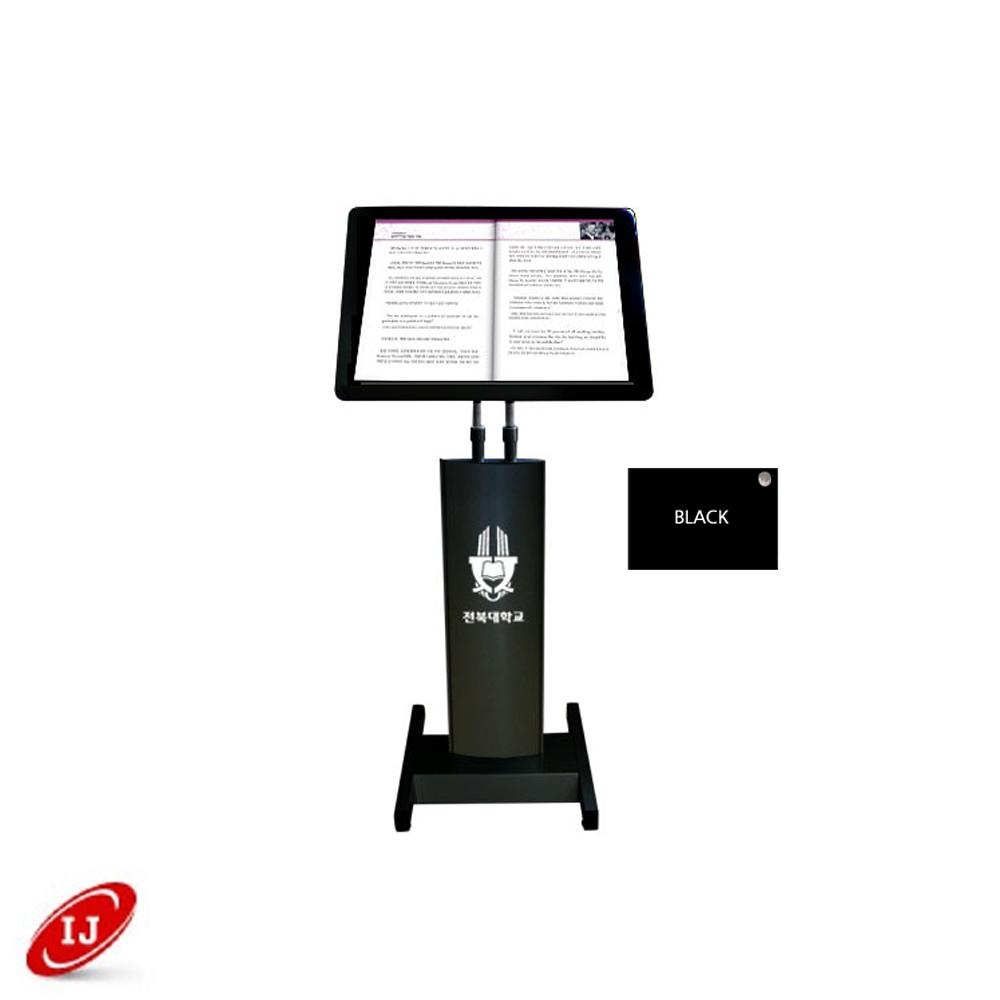 강연대 라운드 600x450 검정 BK-1800