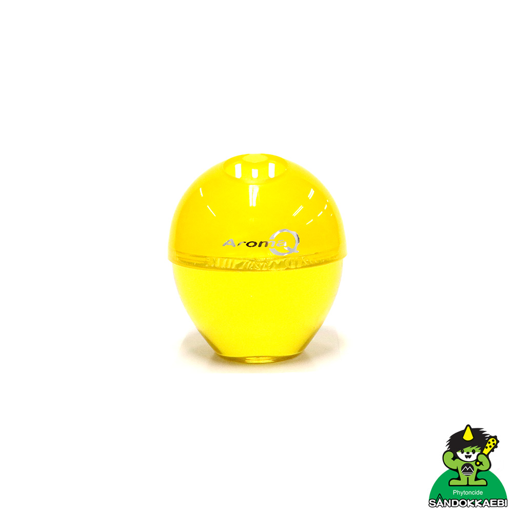[더산3M]산도깨비 아로마 큐 레몬 방향제/사무실방향제/옷장방향제/실내방향제/디퓨져/탈취제/냄새제거/차량냄새/담배냄새/신발장냄새