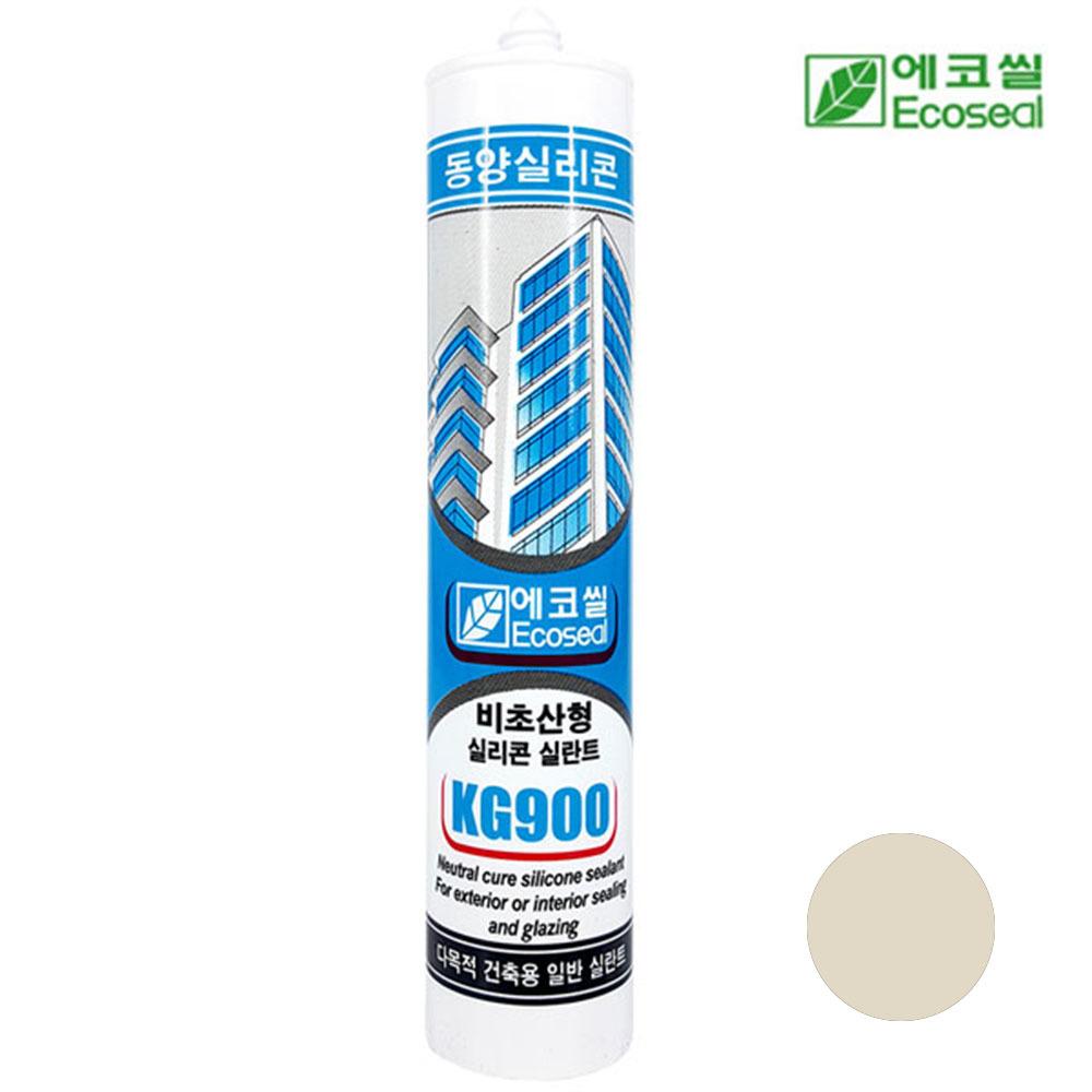 동양 에코씰 비초산형 KG900 실리콘 실란트 오크